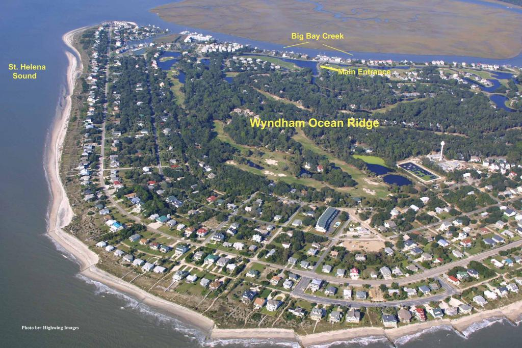 Wyndham Ocean Ridge Beach Walk