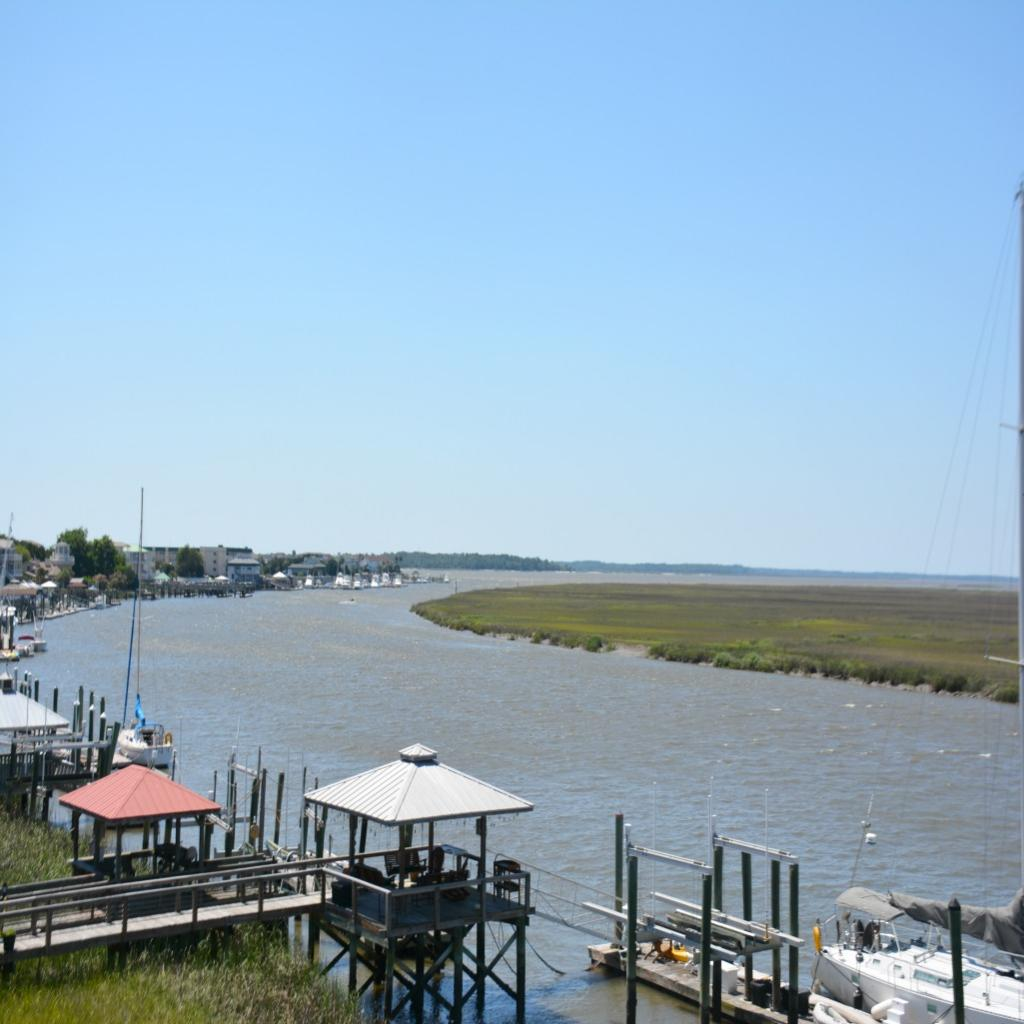 View of Big Bay Creek