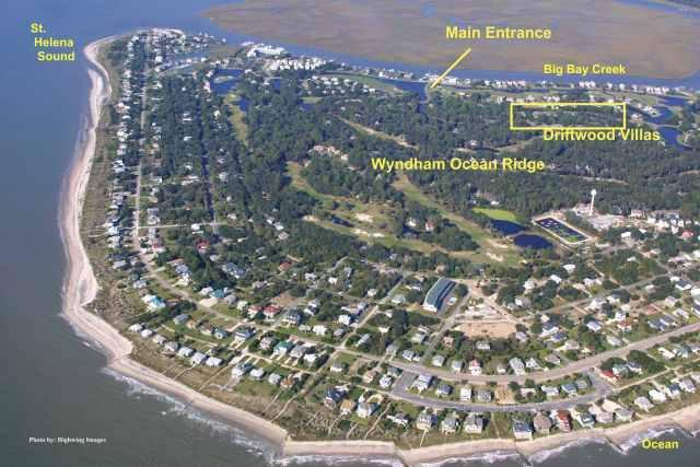 Driftwood Villa 278 Wyndham Ocean Ridge Edisto Realty