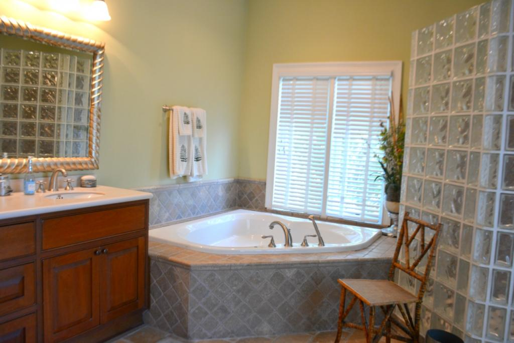 Master Bath whirlpool tub