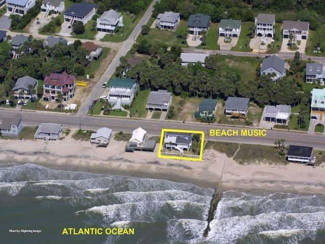 """Aerial of """"Beach Music"""""""