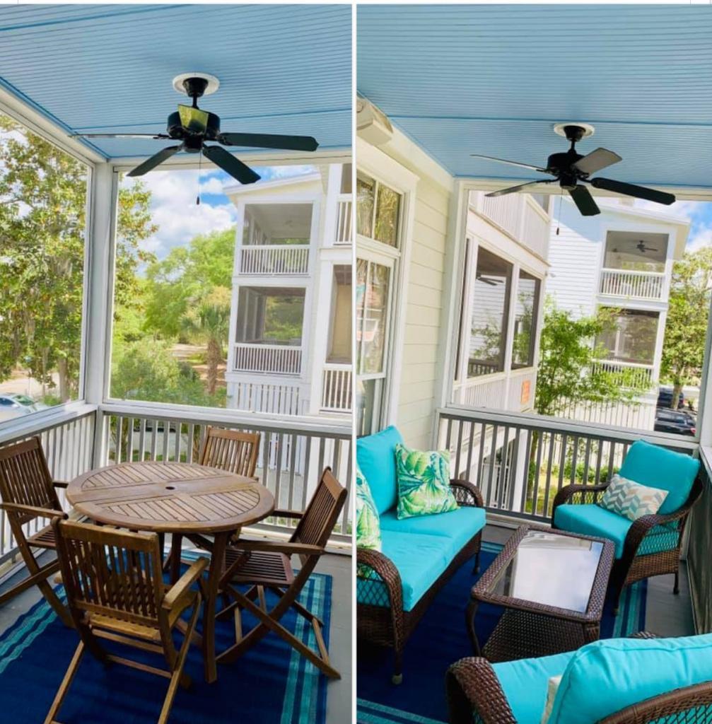 Porch Area/Split view