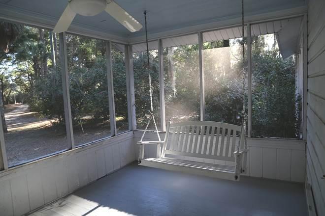 Screen Porch view