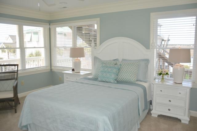 2nd Br - 2nd Fl - Now a King Bed w/private bath - access to covered deck