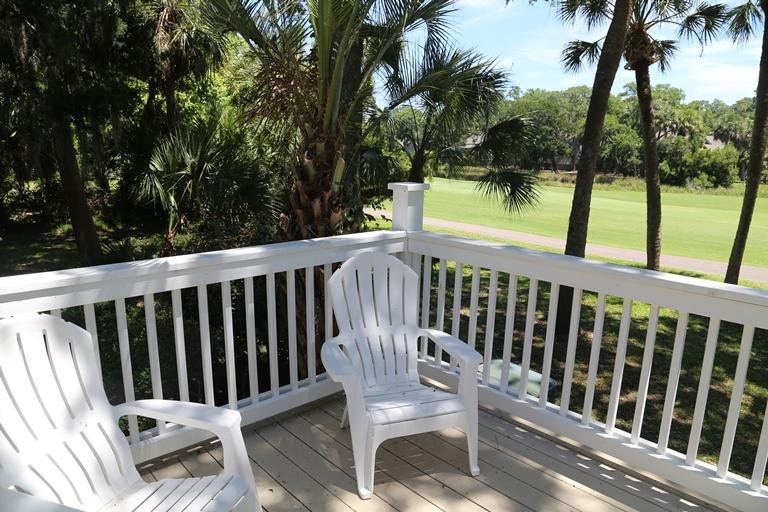 Sundeck with Golf Views