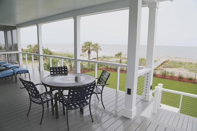 Screen porch off Den and Kitchen