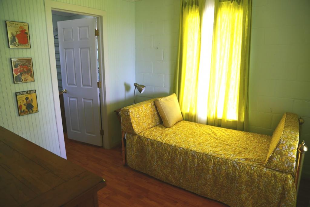 1st Bedroom-Trundle in dressing room-open to glass porch (sleeps 2)