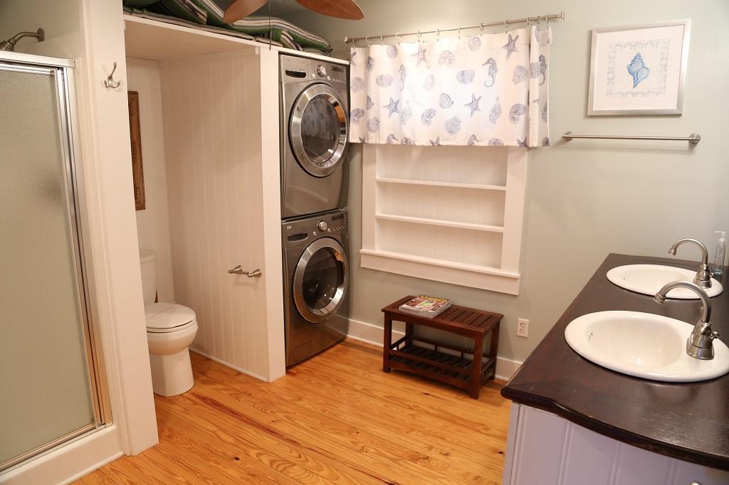 Large Master Bath with Laundry