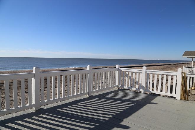 View of Beach from Sundeck