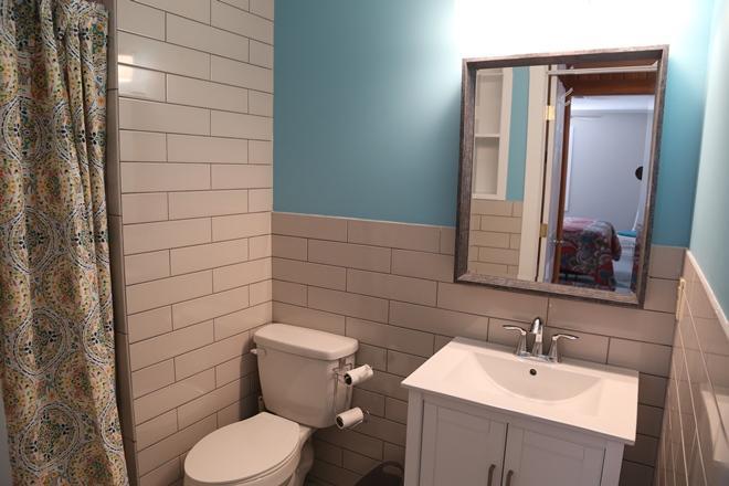 Hall Bath - stall shower