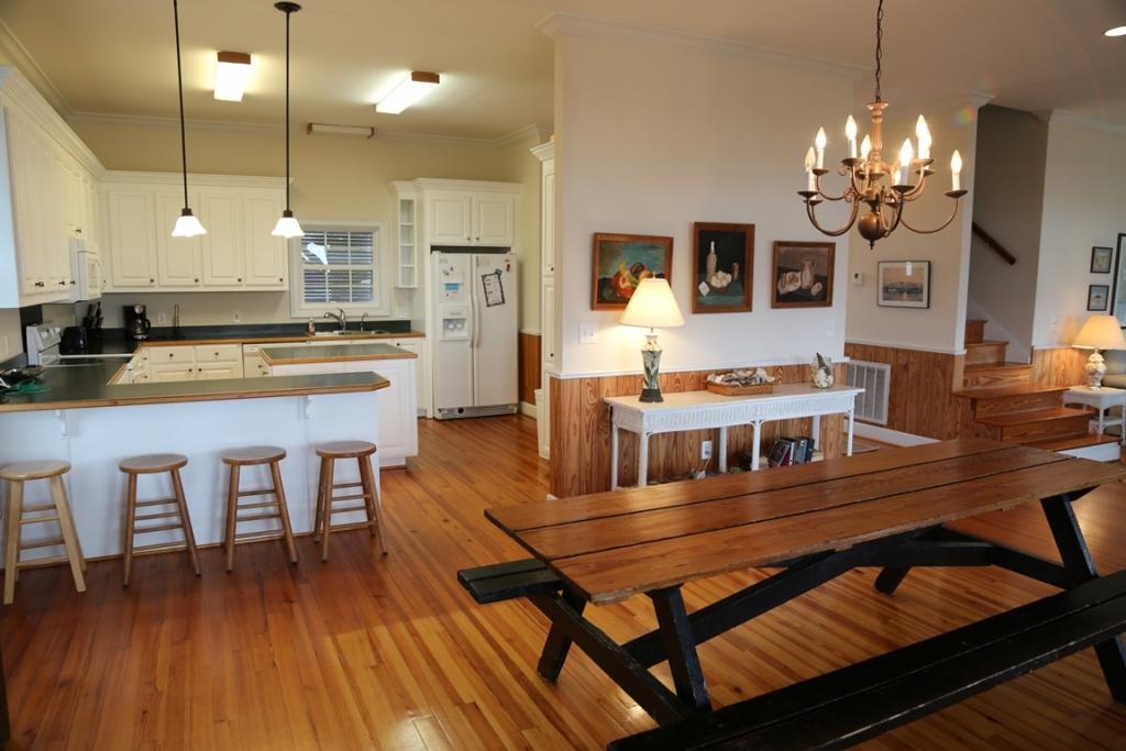 Great Room - Dining & Kitchen areas