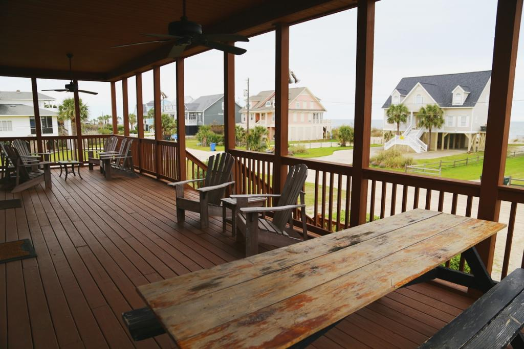 Oceanside Covered Porch