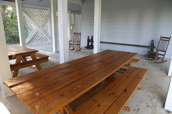 Picnic Area under house