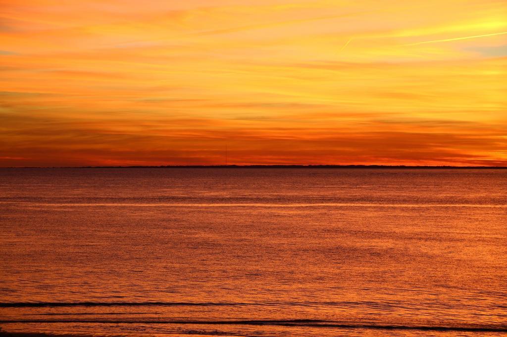 Sunset over St. Helena Sound