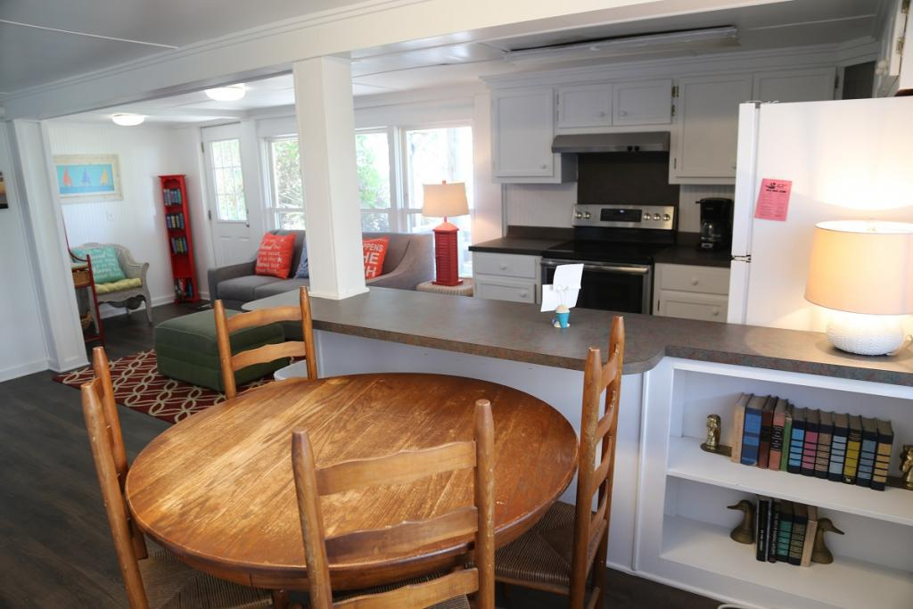 Ground Level Dining and Kitchen