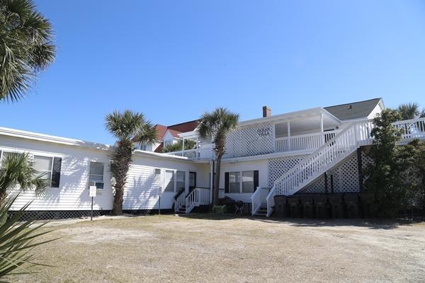 Ocean Villa Road Side View