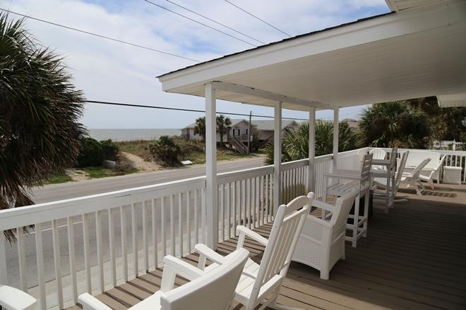 Sun and Covered Porch with Ocean Views