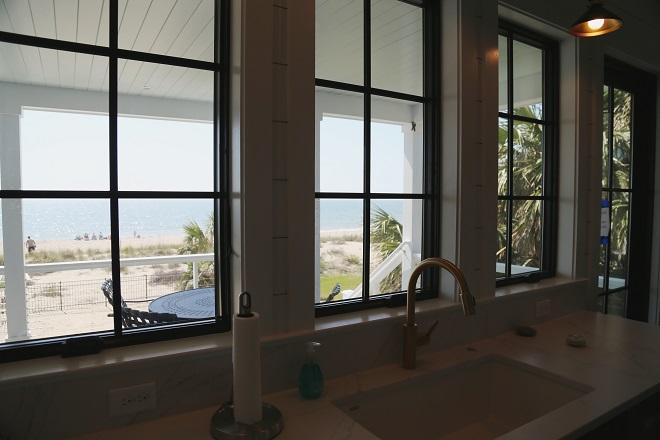 Beach View from Kitchen Window
