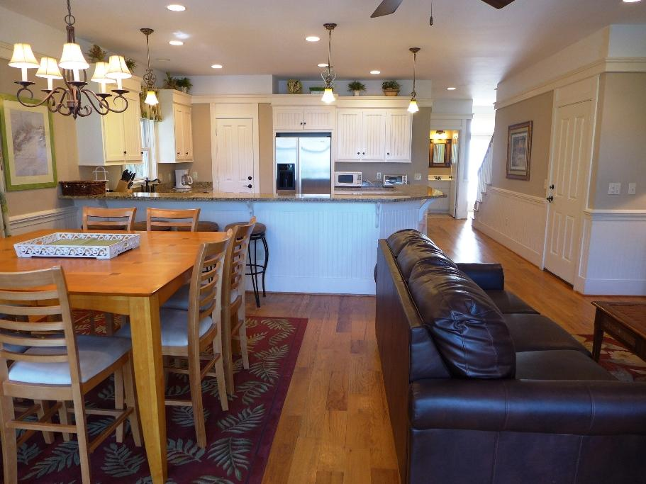 Great Room - Dining & Kitchen Area