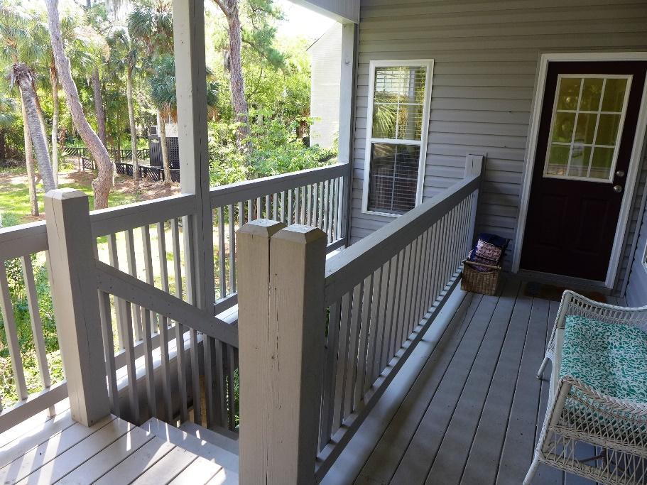 Stairs from carport to Kitchen door
