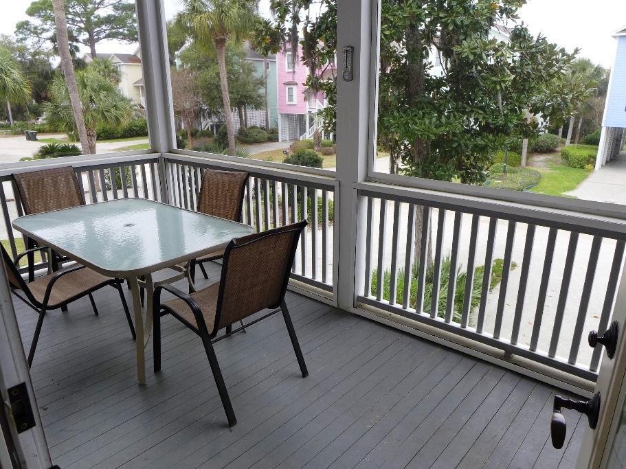 2nd Floor - Screen Porch - facing Jungle Shores