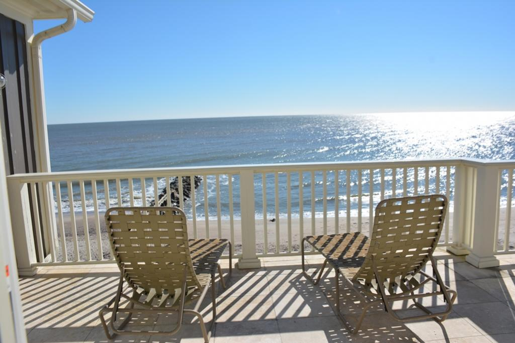 Sundeck view of the water